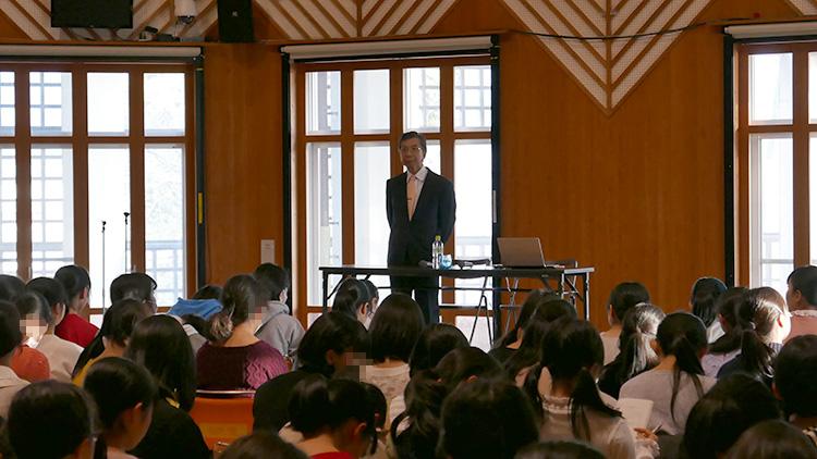 田園調布学園 緒方俊一郎さんの講話