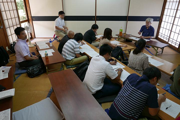 熊本大学 水俣インターシップ 谷洋一さんの講話