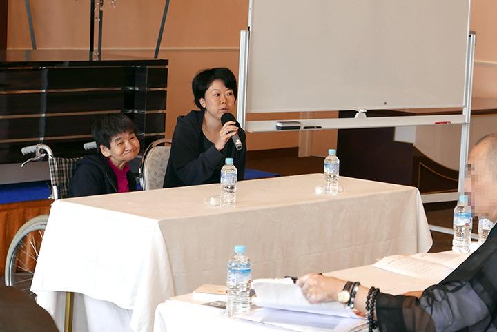 坂本しのぶさんと谷由布さんの講話_浄土宗人権研修会@水俣相思社
