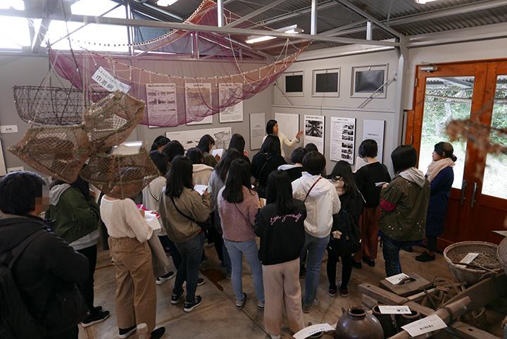 神奈川学園高等学校がご来館|水俣病歴史考証館