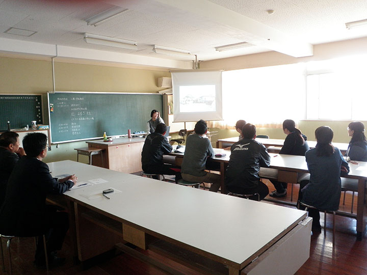 さつま町立山崎小学校で辻が講話