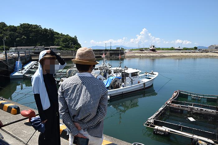 丸島漁港で港の雰囲気を味わう|相思社の水俣案内