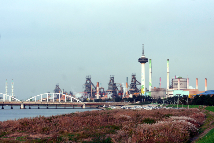 浦項POSCO関連の工場群|水俣病センター相思社