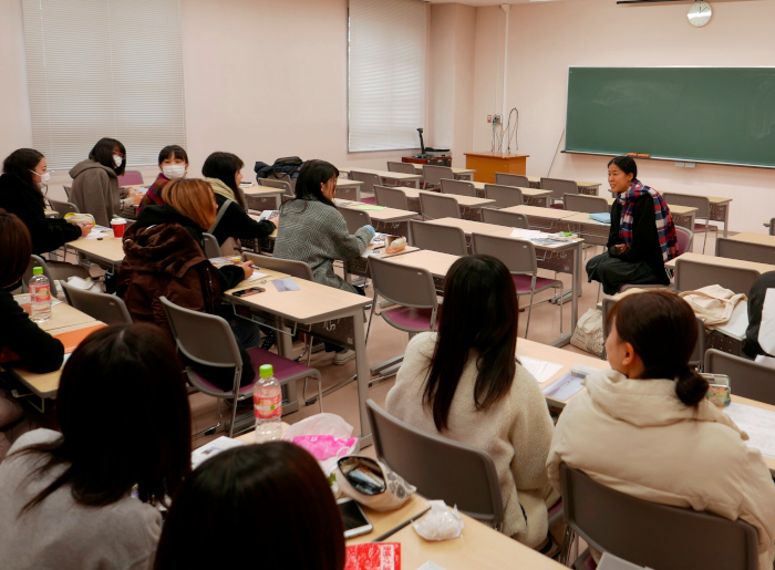 新潟県立大学にて特別講義 水俣病センター相思社
