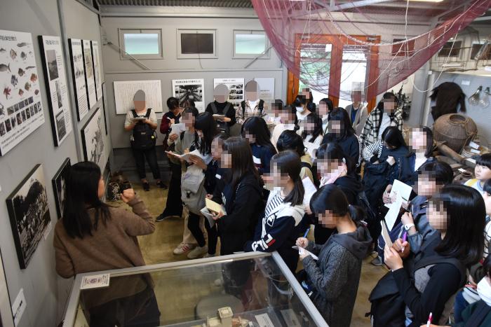 神奈川学園高等学校が来館|水俣病センター相思社・水俣病歴史考証館