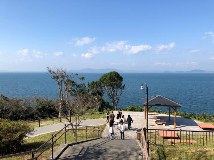 湯の児半島大崎鼻から不知火海を眺望する|水俣病センター相思社の水俣案内