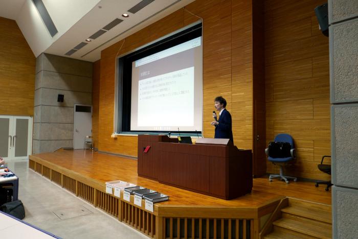熊本県立大学で講話|水俣病センター相思社の出張講話